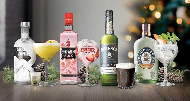 pernod ricard spirits range