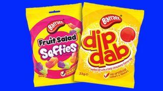 Barratt's: a tangerine confectionery brand