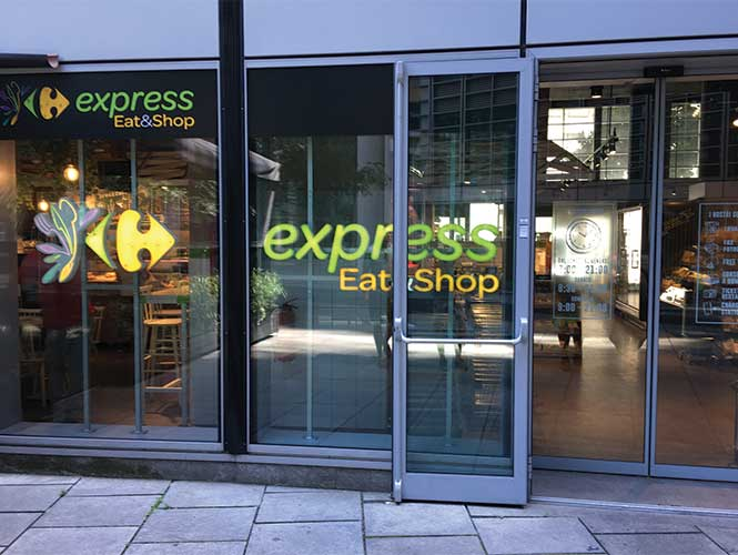 Express Eat & Shop – but fast doesn't have to mean fast foods.