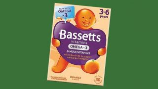 Bassetts omega-3 kids multivitamin