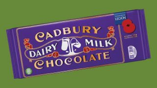 Cadbury Dairy Milk Remembrance Bar