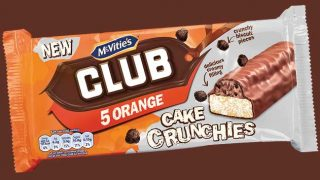 Club Orange Cake Crunchies