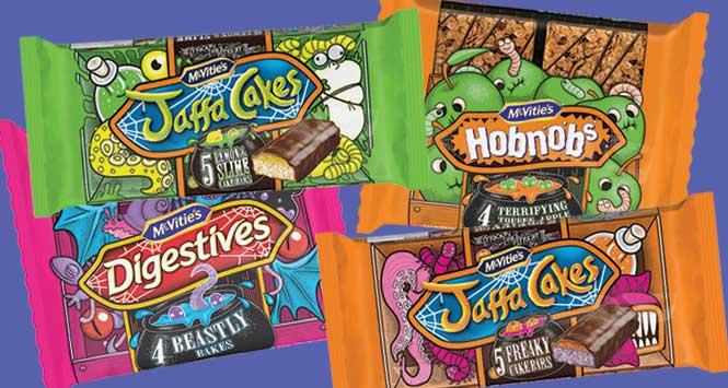 McVitie's Halloween products