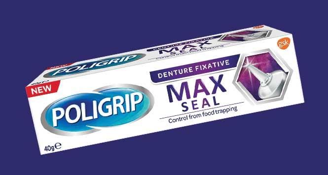 Poligrip Max Seal