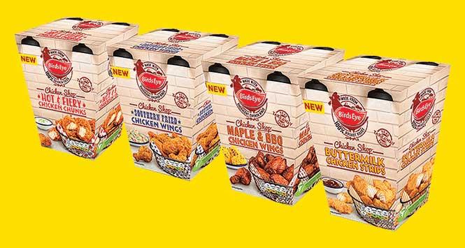 Birds Eye Chicken Shop range