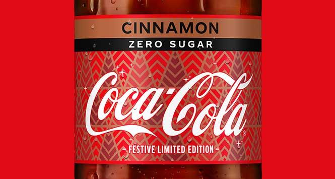 Ccca-Cola zero sugar Cinnamon
