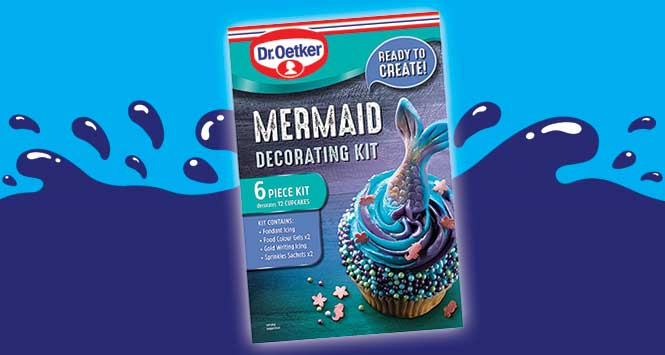 Dr Oetker mermaid kit