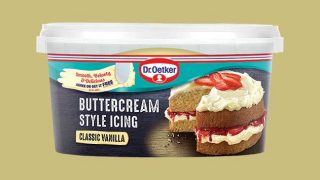 Dr. Oetker buttercream style icing