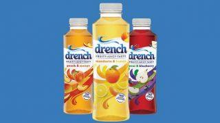Drench soft drinks