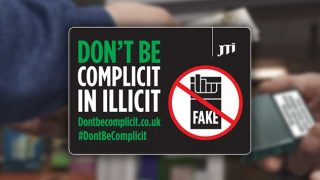 Don't be complicit in illicit tobacco