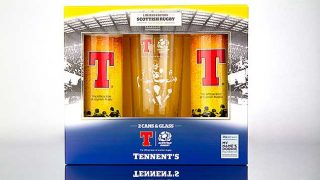 Tennent's Scottish Rugby gift pack
