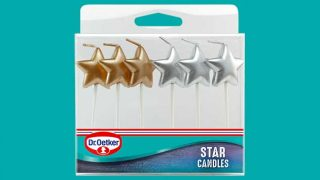 Dr. Oetker cake candles