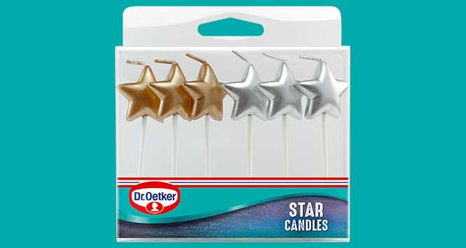 Dr. Oetker cake candles