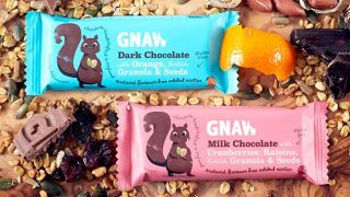 Gnaw chocolate bar
