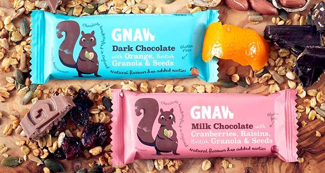 Gnaw chocolate bar