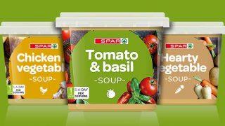 Spar brand soups