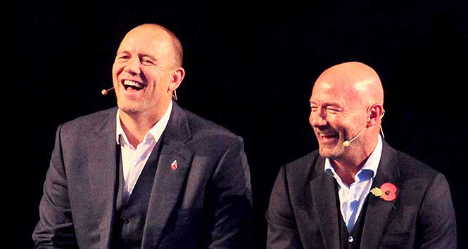GroceryAid Sporting Lunch: Mike Tindall and Alan Shearer