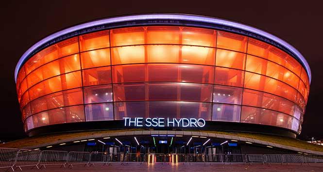 The Hydro glows orange