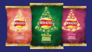 Walkers Brussels Sprouts flavour crisps