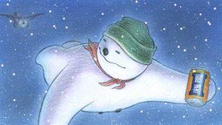 irn bru snowman ad