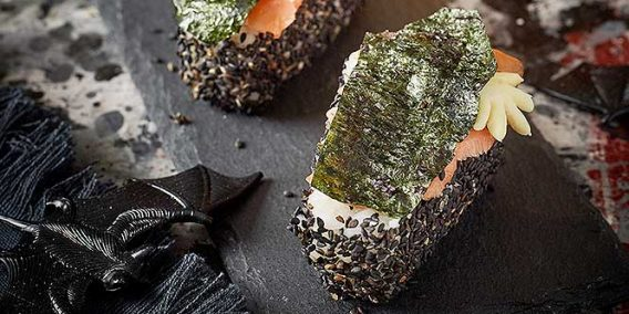 Sushi coffin