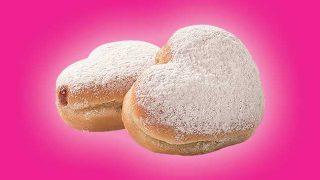 I Heart You doughnuts