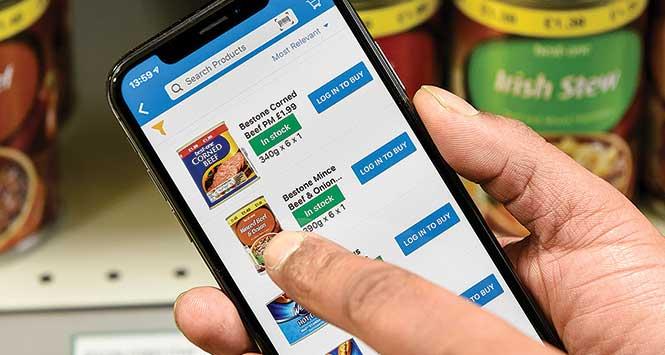 Bestway's ordering app