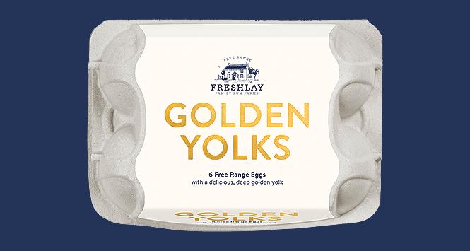 Freshlay Golden Yolks eggs