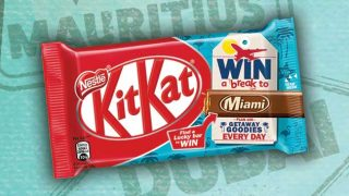 KitKat with Make A Break For It promotional design