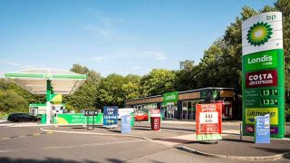 MFG forecourt with Londis shop