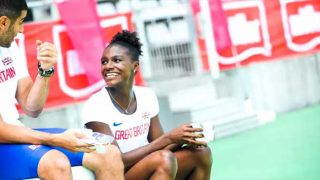 British Athletics star Dina Asher Smith