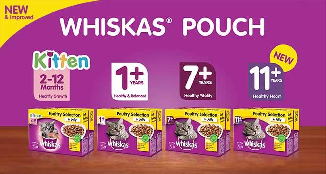 Whiskas Pouch range