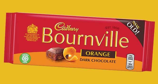 Cadbury Bournville Orange bar