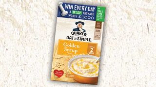 Quaker Oats with Nuffield promo