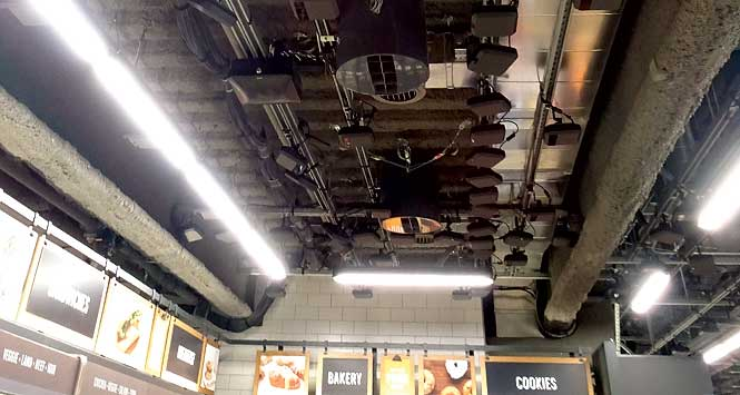 The uninspiring-looking camera system on the roof is what makes this store really special.
