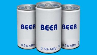 Low alcohol generic beer