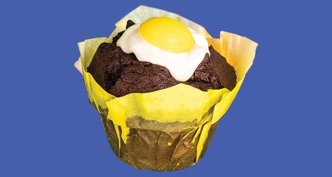 Cracked Egg Muffin