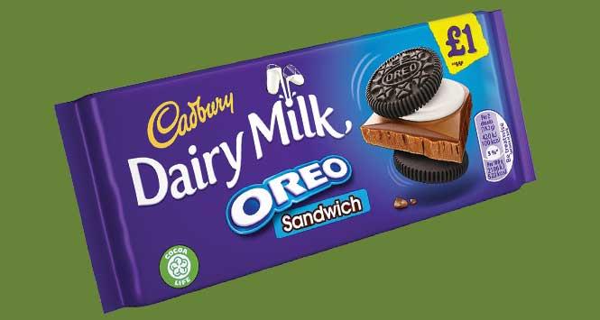 Cadbury Dairy Milk Oreo Sandwich