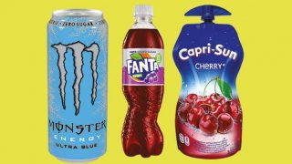 Capri-Sun, Monster and Fanta
