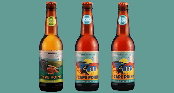 Cape Brewing Company beers
