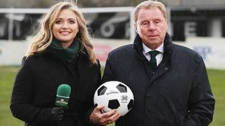 Harry Redknapp and Hayley McQueen