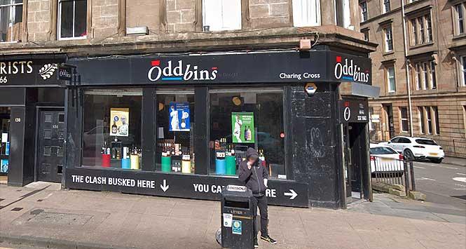 Oddbins store