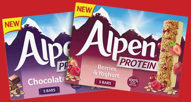 Alpen Protein bars