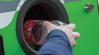 Using a reverse vending machine