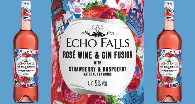 Echo Falls Rose Wine and Gin fusion