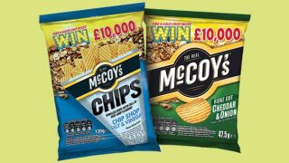 McCoy's Win Gold packs