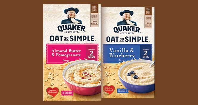 Quaker Oats So Simple packs