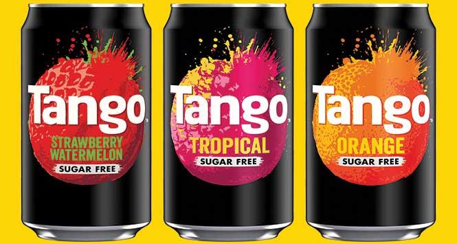 Tango sugar free flavours