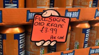 Full sugar Irn-Bru