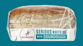 Allinson's Serious White with Sourdough loaf